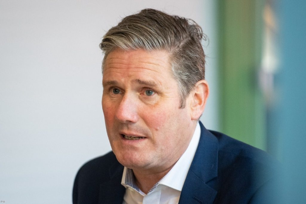 Starmer demands circuit-breaker lockdown in break with previous critical support for government policy.