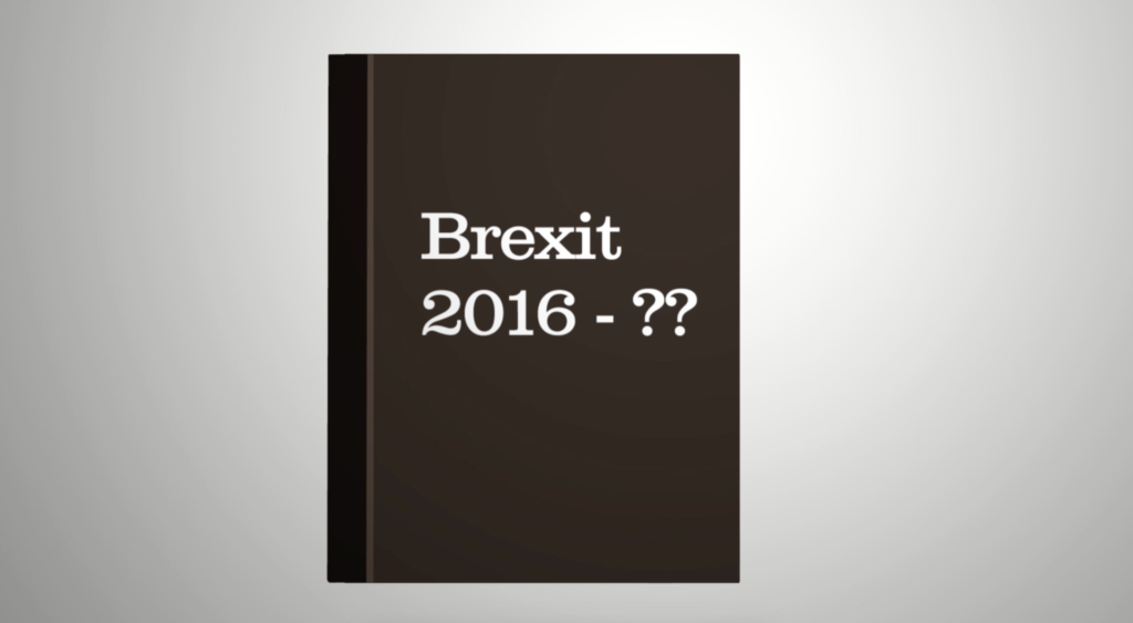 A brown cartoon diary with 2016 - ?? on the front
