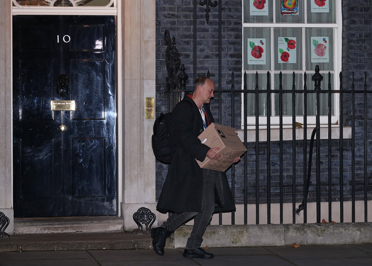 Dominic Cummings Resigns Downing Street