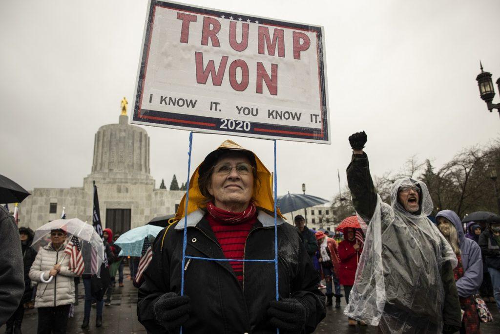 Electoral College Protests Oregon