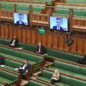 Virus Outbreak Britain Politics
