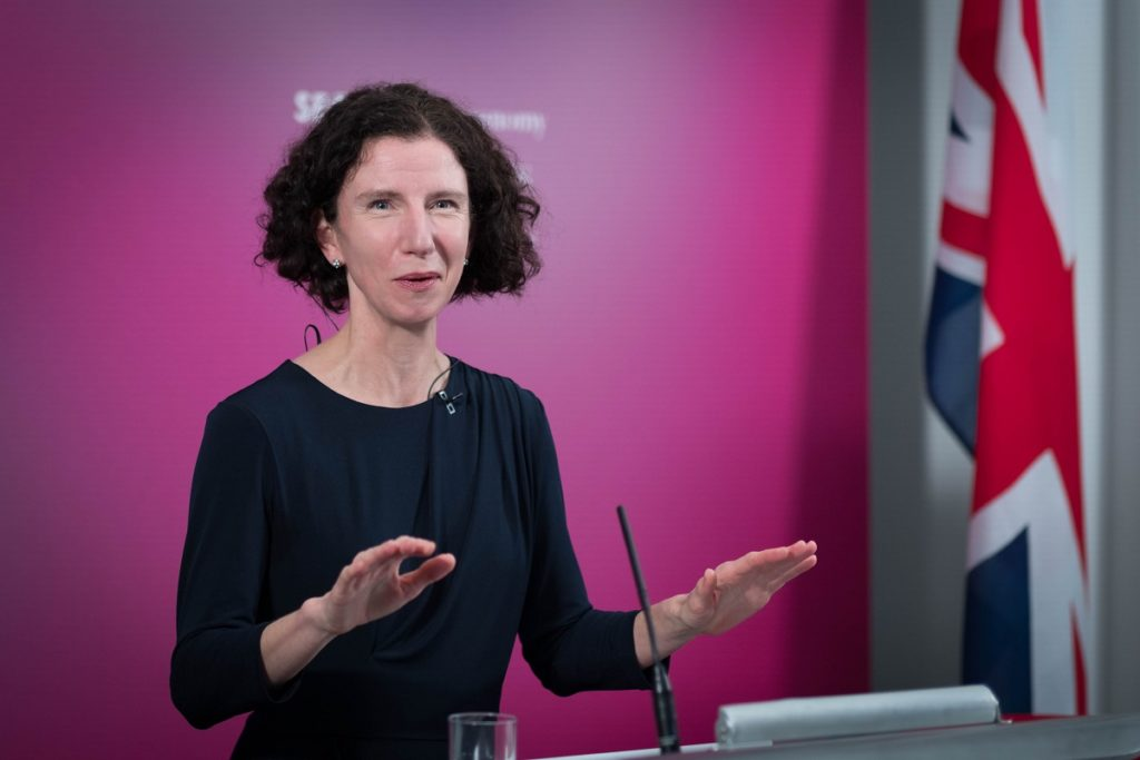 Shadow chancellor Anneliese Dodds delivers Mais lecture