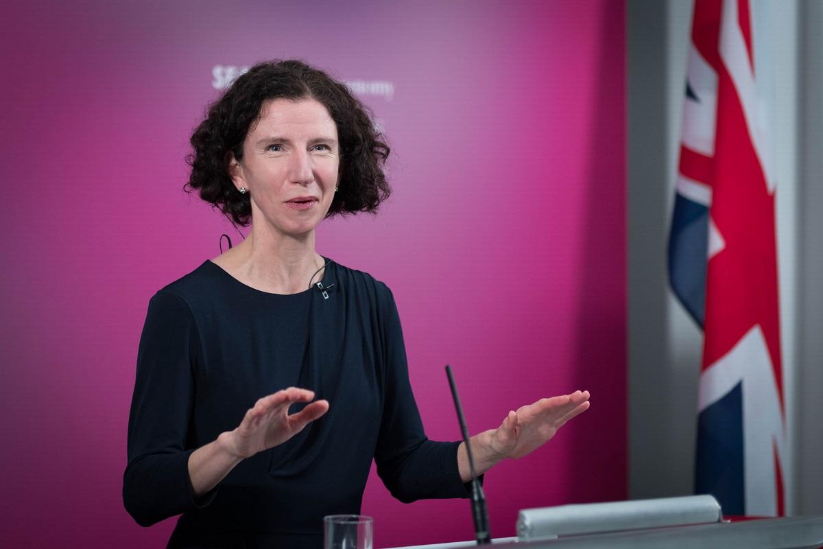 Shadow chancellor Anneliese Dodds delivers Mais lecture