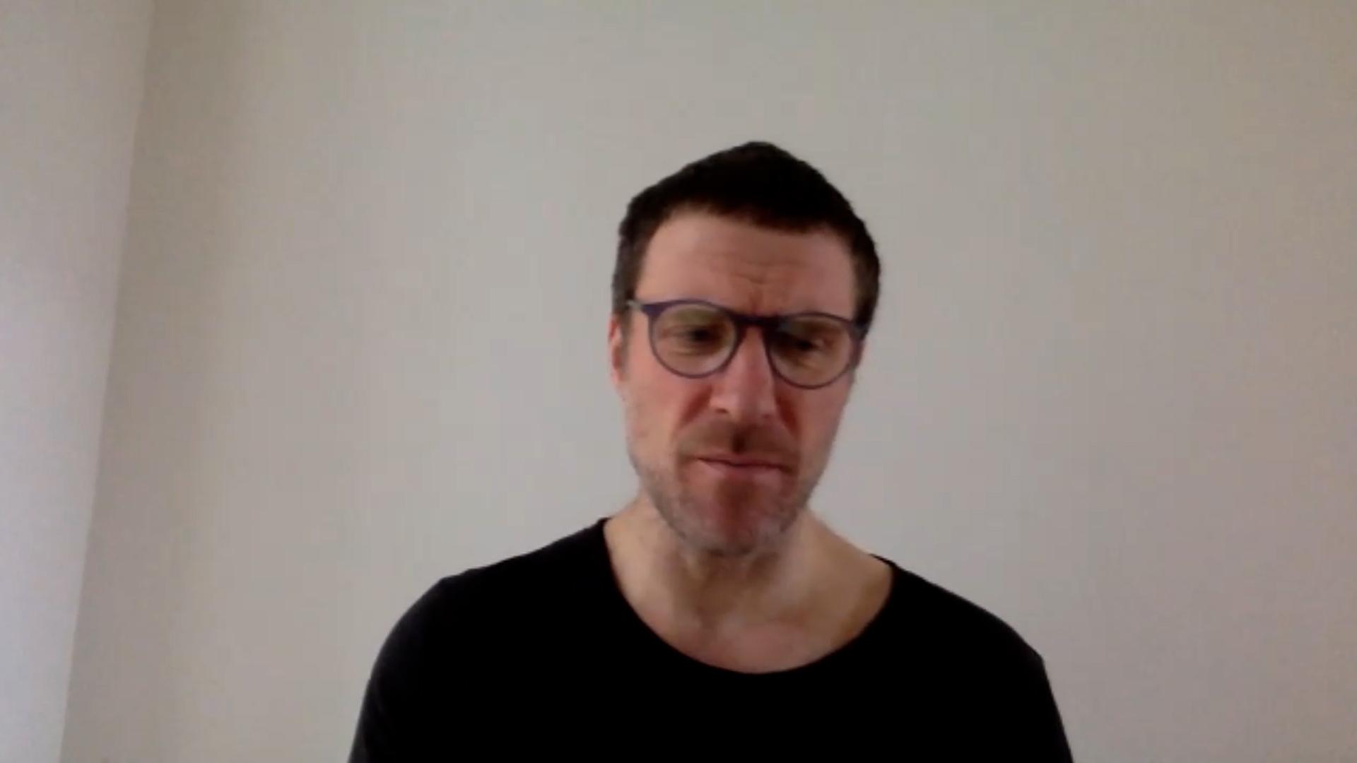 Jason Williamson from Sleaford Mods