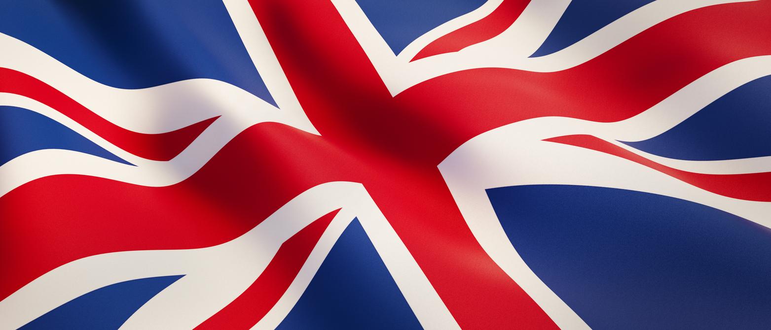 A fluttering Union Jack