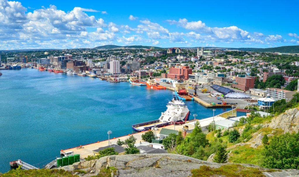 St John's is the Capital of Newfoundland.