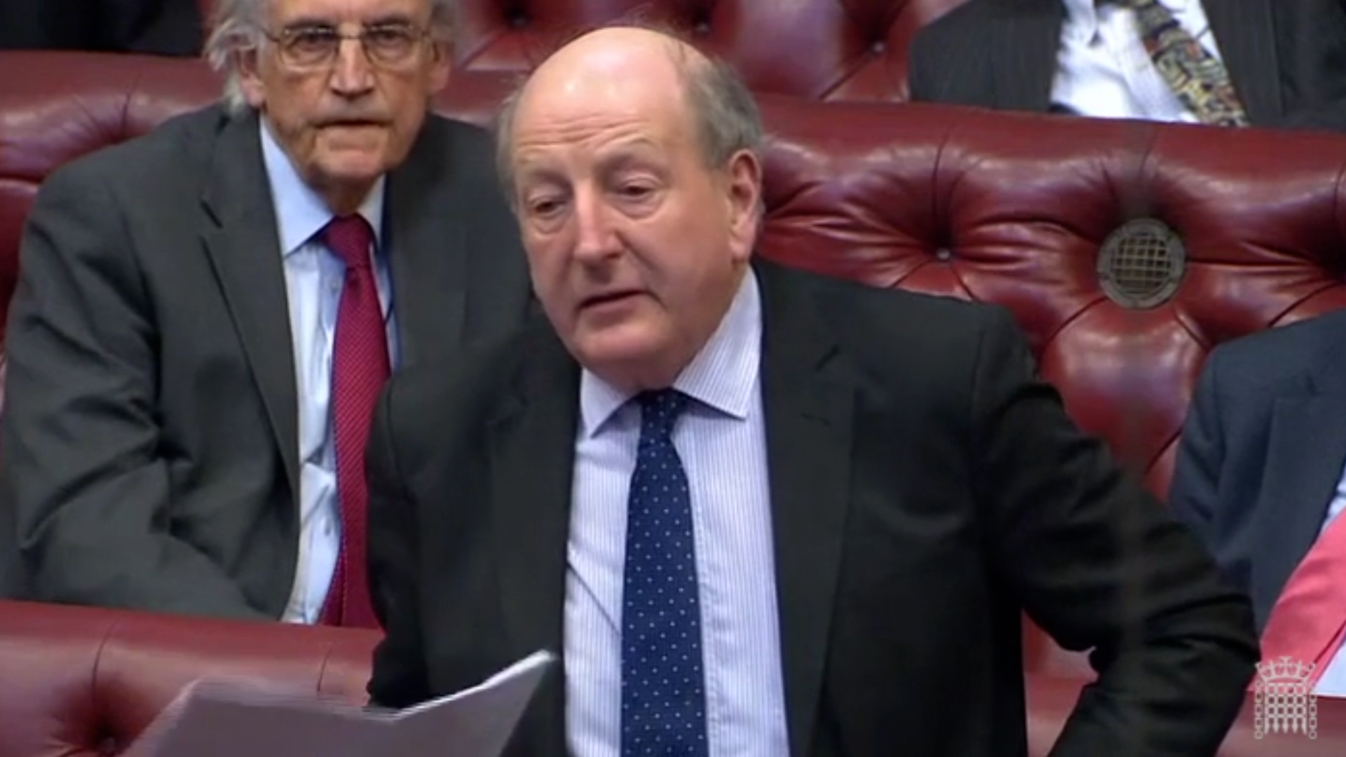Lord Berkeley speaking in the House of Lords
