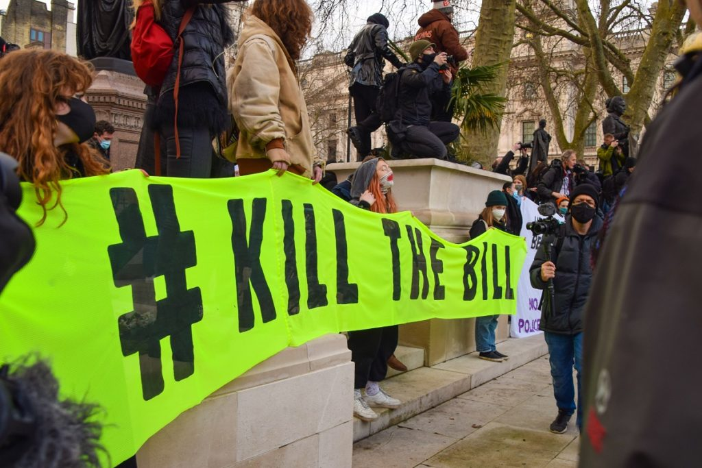 Protest against the anti-protest bill