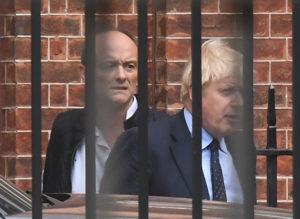 Boris Johnson, Dominic Cummings