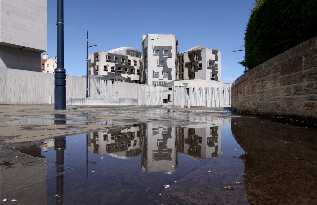 Scottish Parliament, Holyrood, Edinburgh, Scotland