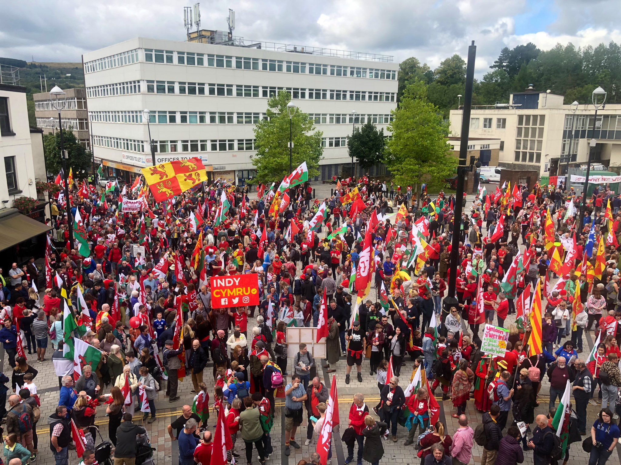 The Welsh independence movement