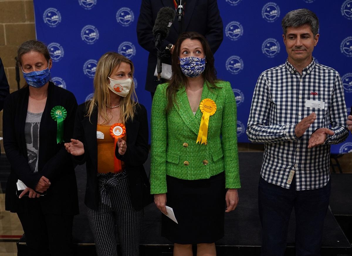 Sarah Green wins Chesham & Amersham