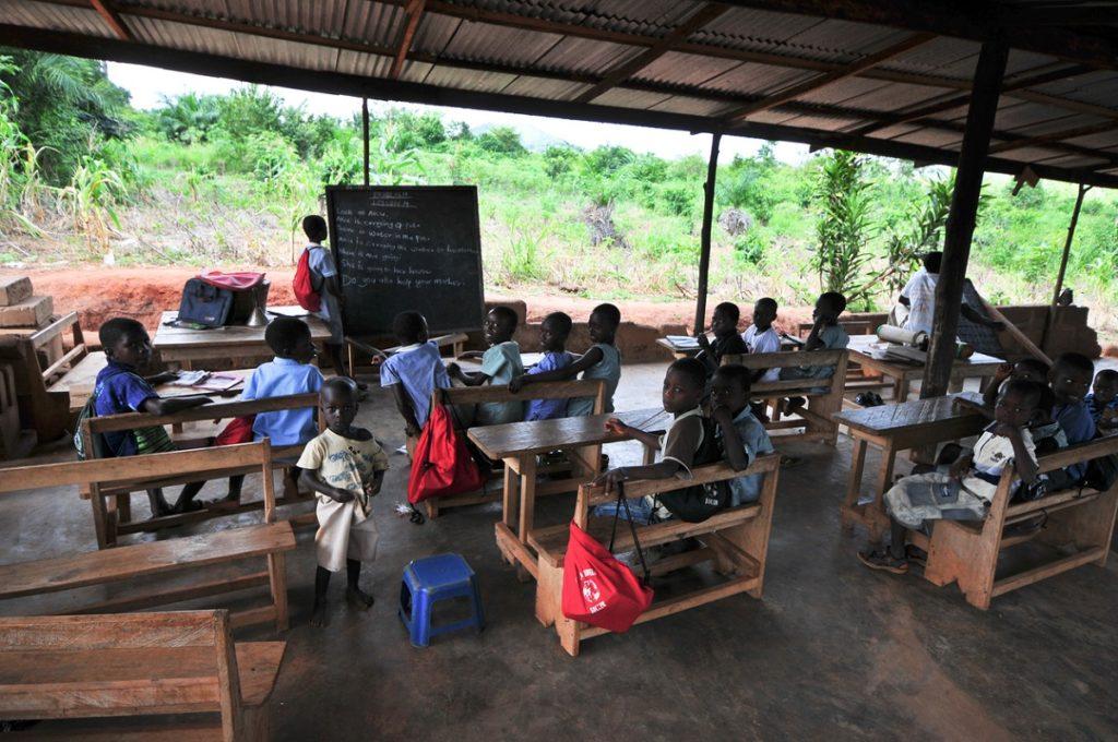 Outdoor school Africa