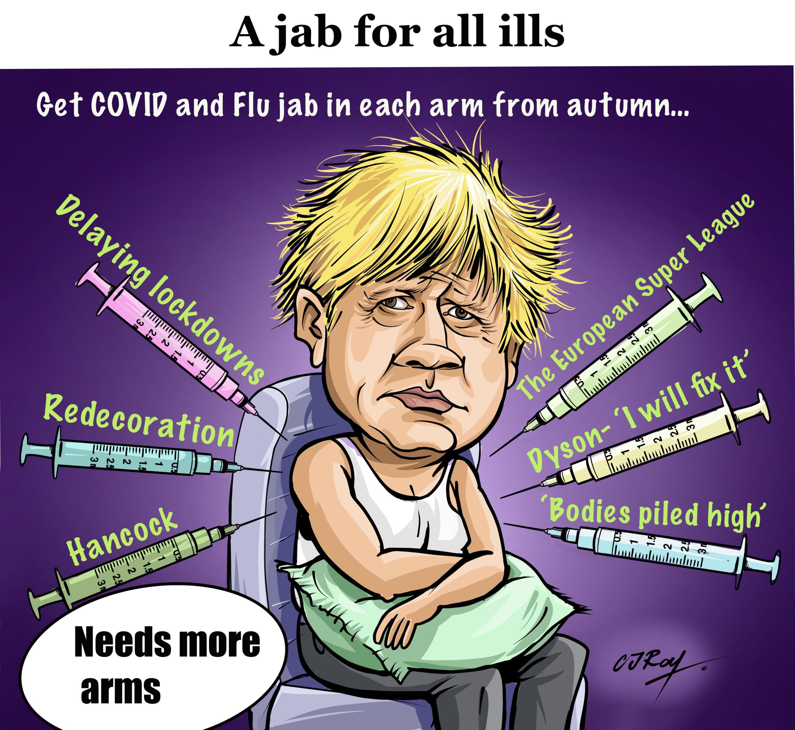 A Jab for all ills