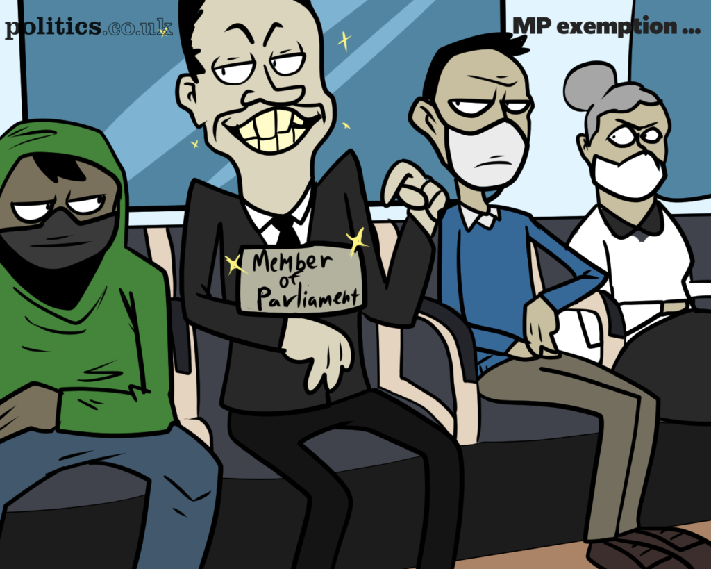MP mask exemption