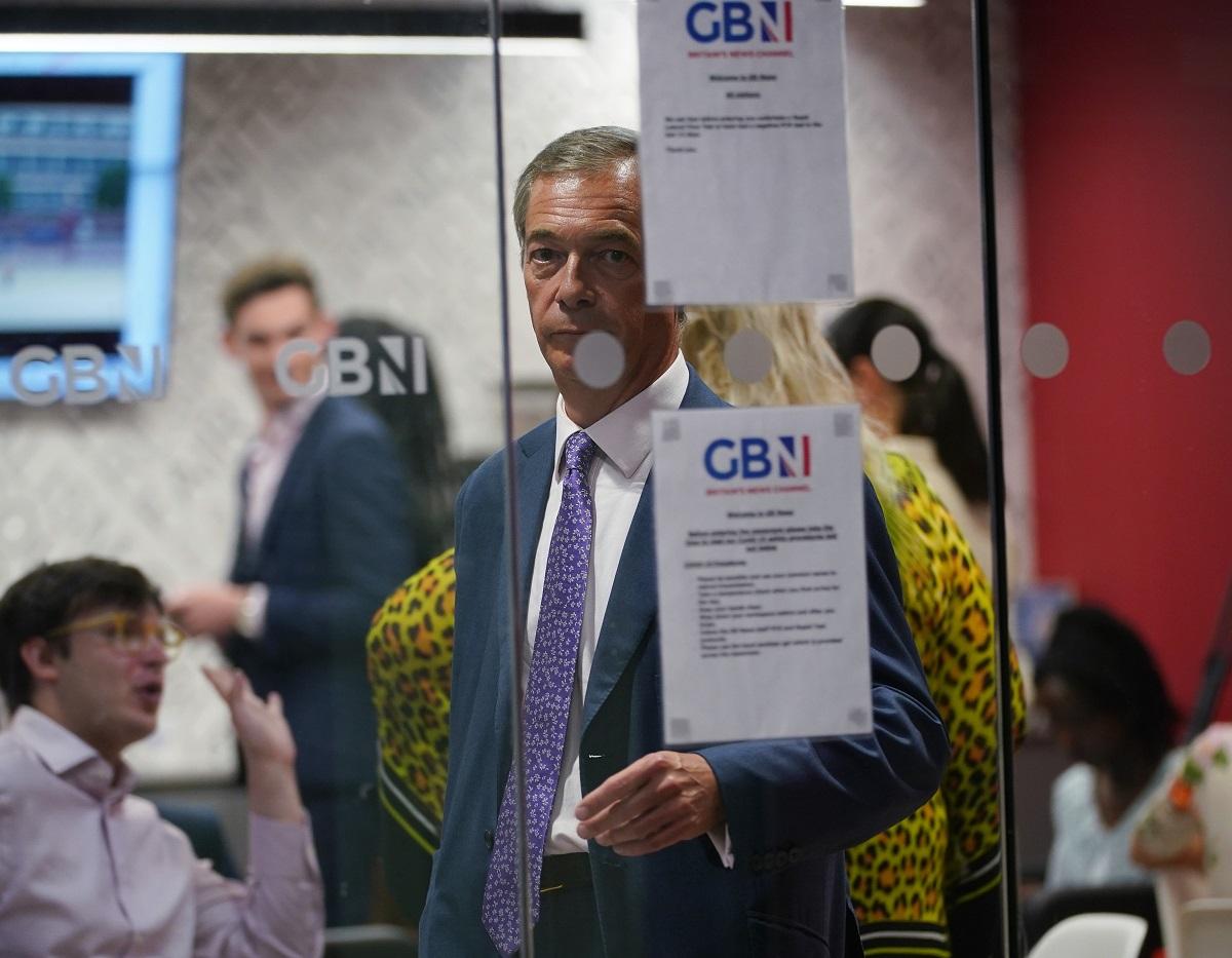 Nigel Farage GB News