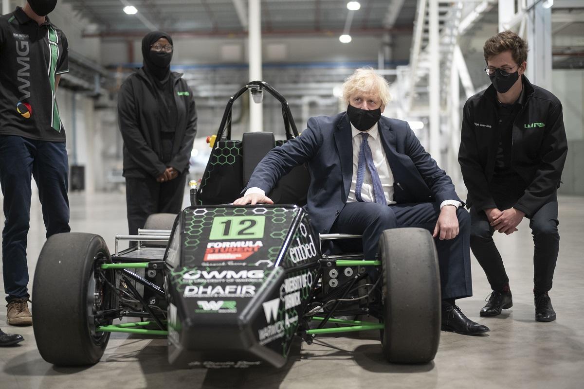 Boris Johnson visit to Coventry