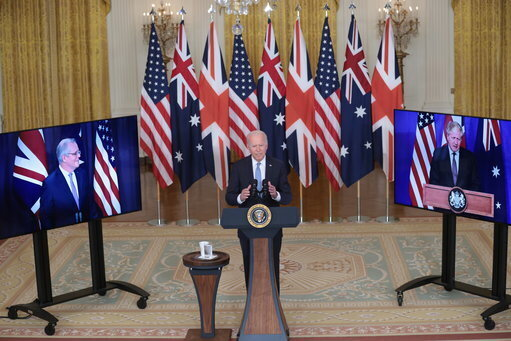 DC: President Joe Biden delivers remarks about a national security initiative
